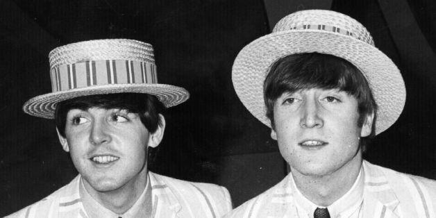 December 1963: The Beatles (clockwise from top left) Paul McCartney, John Lennon (1940 - 1980), George...