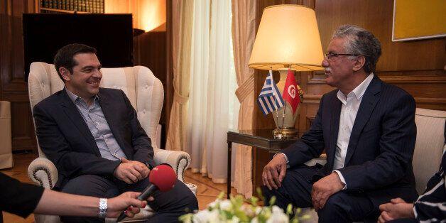 Με τον Τυνήσιο ηγέτη της Αριστέρας συναντήθηκε ο Αλέξης
