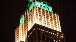 Φωτογραφίες: Τo Empire State Building ''βάφτηκε'' πράσινο για τα 10 χρόνια της