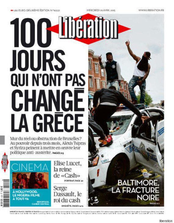 Η Ελλάδα πρωτοσέλιδο στη Liberation: Οι 100 μέρες που δεν άλλαξαν την