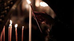 Με τιμές αρχηγού κράτους το ιερό σκήνωμα της Αγίας Βαρβάρας στην