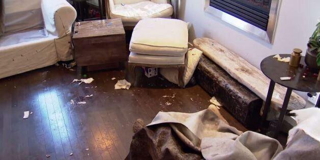 Νοίκιασαν σε ξένους το σπίτι τους για ένα σαββατοκύριακο και το βρήκαν κατεστραμμένο και γεμάτο