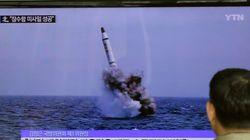 Δοκιμαστική εκτόξευση βαλλιστικού πυραύλου από βορειοκορεατικό