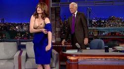 Η Tina Fey αποχαιρέτησε τον Letterman με το καλύτερο στριπτίζ που έχουμε δει στην