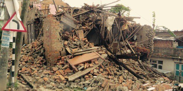 Images from Nepal following the earthquake of April 25,