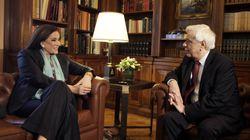 Στο Προεδρικό η Μπακογιάννη. Παυλόπουλος:«Δεν χωρούν μικροκομματικές σκοπιμότητες στα μεγάλα και