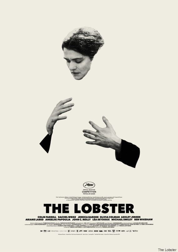 Colin Farrell και Rachel Weisz στις δύο νέες αφίσες για το «Lobster» του Γιώργου