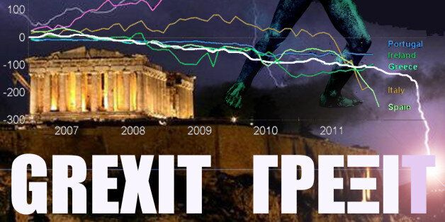 GREXIT statistics with