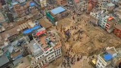 Οι καταστροφές του φονικού σεισμού στο Νεπάλ από ένα