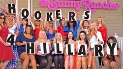 Οι ιερόδουλες στη Νεβάδα ψηφίζουν Χίλαρι