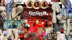 Μια ομάδα καλλιτεχνών μετατρέπει τις σελίδες «404 error» του ίντερνετ σε φαντασμαγορικά έργα