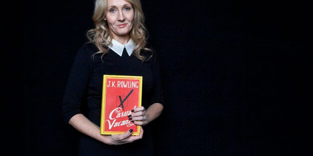 This Oct. 16, 2012 photo shows author J.K. Rowling at an appearance to promote her latest book