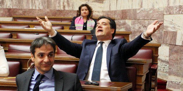 Κόντρας συνέχεια στη Βουλή μεταξύ Γεωργιάδη και Διαμαντόπουλου: «Θα μου πετάξετε καμιά