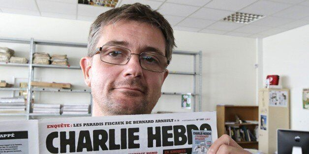 FILE - In this Sept.19, 2012 file photo, Stephane Charbonnier also known as Charb , the publishing director...