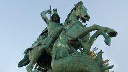 Δρακοφονιάς, προστάτης του Ελληνικού Στρατού, αλλά και της Αγγλίας και των Σταυροφόρων: Οι θρύλοι για τον Άγιο