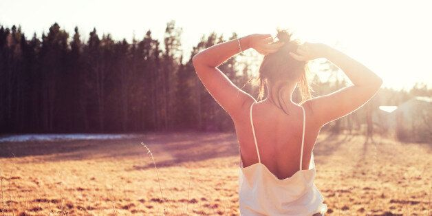 Went on a spontaneous photoshoot with my friend Linnea. On sunday afternoon outside of Nyköping, it...