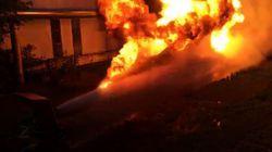Τι συμβαίνει όταν στήνεις απέναντι έναν πυροσβεστήρα και ένα