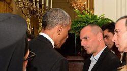 Το 12λεπτο τετ-α-τετ Ομπάμα - Βαρουφάκη στον Λευκό