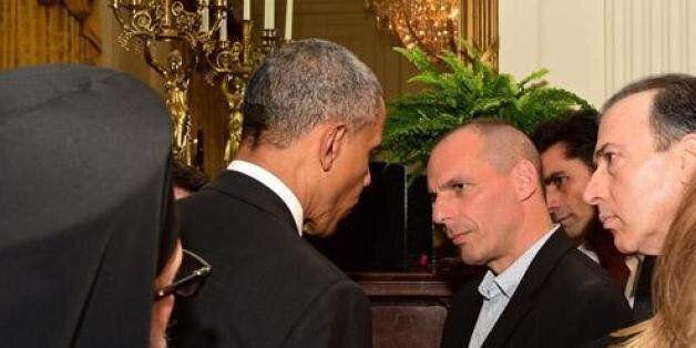 Η 12λεπτη συνάντηση Ομπάμα - Βαρουφάκη στον Λευκό Οίκο και τα μηνύματα του προέδρου των ΗΠΑ σε εταίρους...