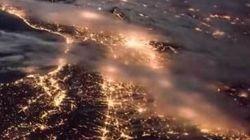 Η Ευρώπη από ψηλά τη νύχτα μέσα από ένα timelapse