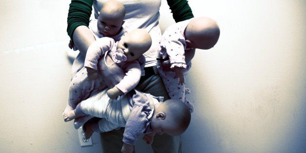 153/365A little old lady at my work was getting very overwhelmed by her babies.I offered to babysit the...