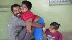 Απελπισμένος πατέρας διατίθεται να πουλήσει το νεφρό του για να σώσει τα παχύσαρκα παιδιά