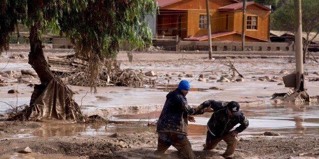 Φωτογραφία αρχείου από τις πλημμύρες στο Κοπιάπο της Χιλής στις 26 Μαρτίου