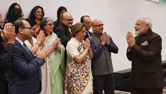 PM Modi Promises 'New Kashmir' To Kashmiri Pandits In US As Valley Remains