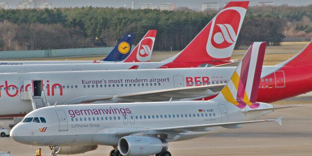 The new Germanwings-colours...this livery is to be seen soon all over Europe - 4U is taking over Lufthansa's...