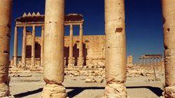 Offensives contre l'EI à Palmyre et