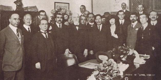 Ο Ελευθέριος Βενιζέλος στα γραφεία του Εθνικού Κήρυκα το