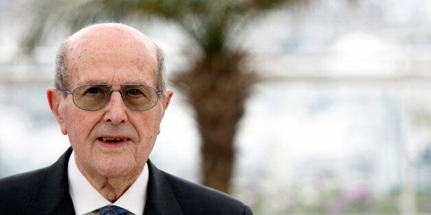 99-year-old Portuguese director Manuel de Oliveira poses during the Hommage Manoel de Oliveira photo...