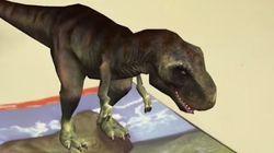 Tαξίδι στην εποχή των δεινοσαύρων με «χρονομηχανή» ένα ελληνικό βιβλίο με τεχνολογία augmented