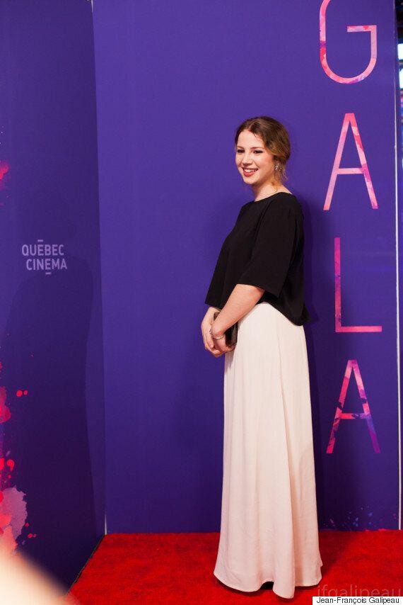 Gala cinéma québécois 2016: un tapis rouge chic en noir et blanc (PHOTOS et