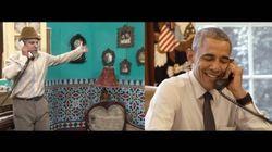 Quand Obama plaisante avec un humoriste