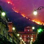 L'incendio di Sarno: 200 sfollati e una pineta distrutta. Una bravata 6 ragazzi (5