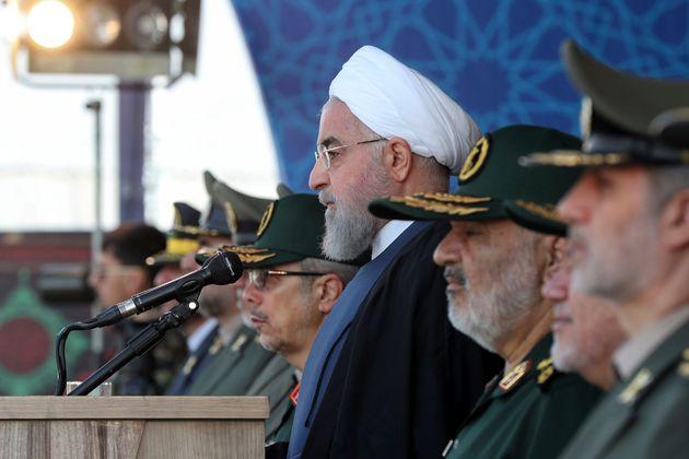 Ρουχανί: H παρουσία ξένων δυνάμεων στον Περσικό Κόλπο αυξάνει την