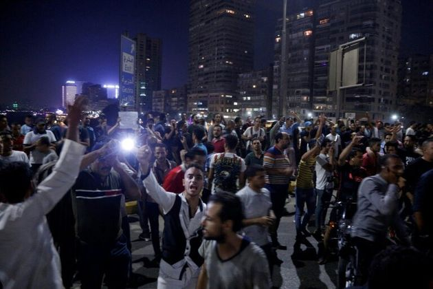 Demonstrations are extremely rare in Egypt after the government effectively banned protests following...