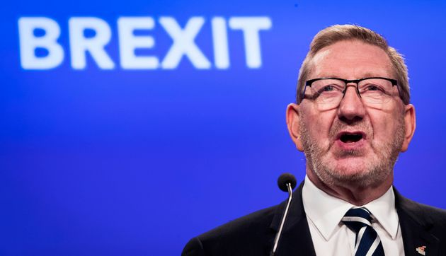 Unite General Secretary Len McCluskey gives a speech on Brexit during the TUC Congress in