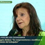 Las duras palabras de esta representante de las 'kellys' sobre Pedro Sánchez en 'LaSexta