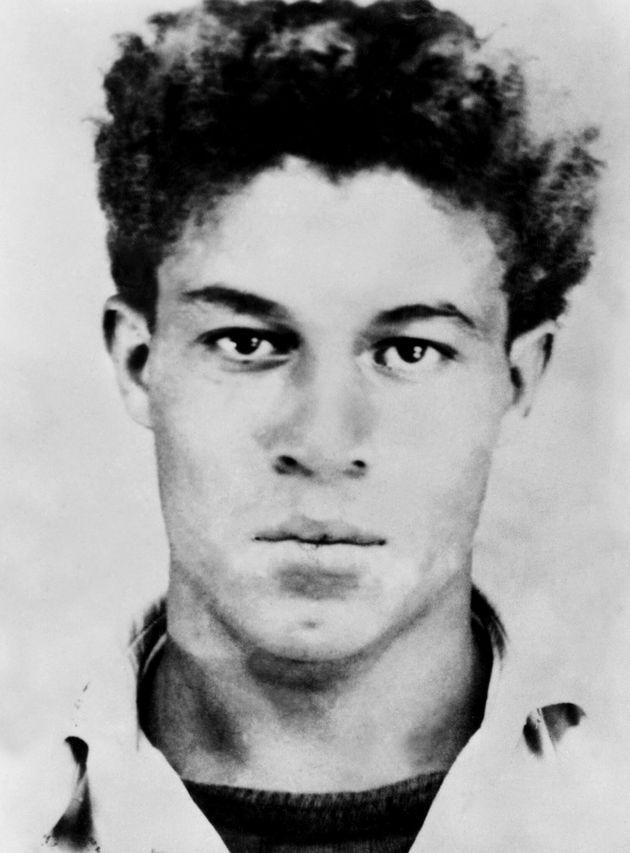 Undated photograph (circa 1954) of Ali Ammar, also known as Ali La Pointe, a guerrilla leader who fought...