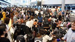 Εκατοντάδες πτήσεις ακυρώθηκαν στην Ιαπωνία εξαιτίας του τυφώνα