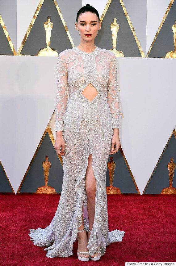 Oscars 2016: le blanc à l'honneur sur le tapis rouge