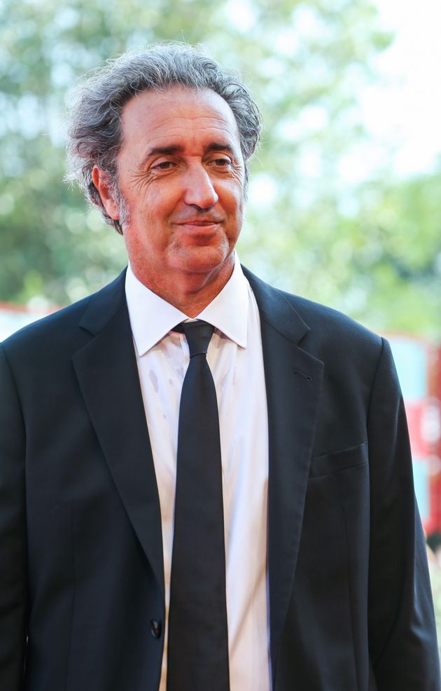 "Paolo Sorrentino walks the red carpet ahead of ""The New Pope"" screening during the 76th Venice..."
