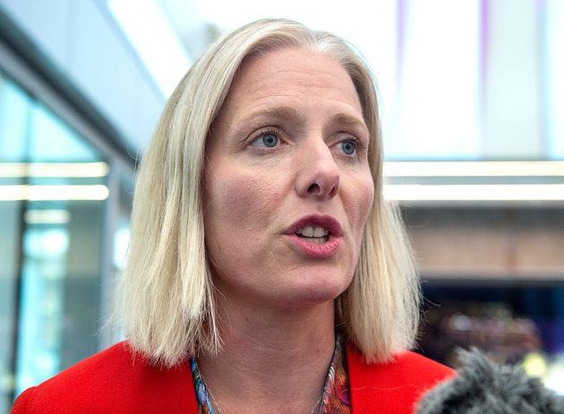 La ministre de l'Environnement sortante