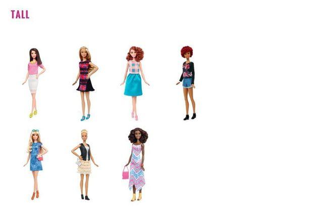 Barbie pourra désormais être «ronde», une
