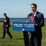 Scheer Makes Pledges To Veterans, Avoids Talking About Harper's