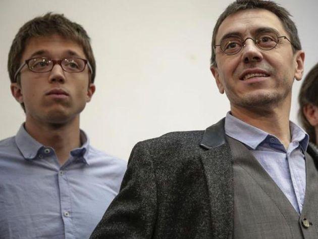 Íñigo Errejón y Juan Carlos