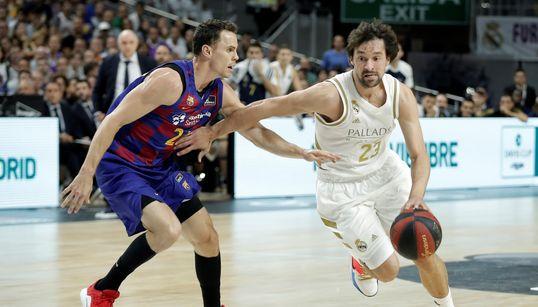 El Real Madrid gana la Supercopa de baloncesto tras vencer al Barça