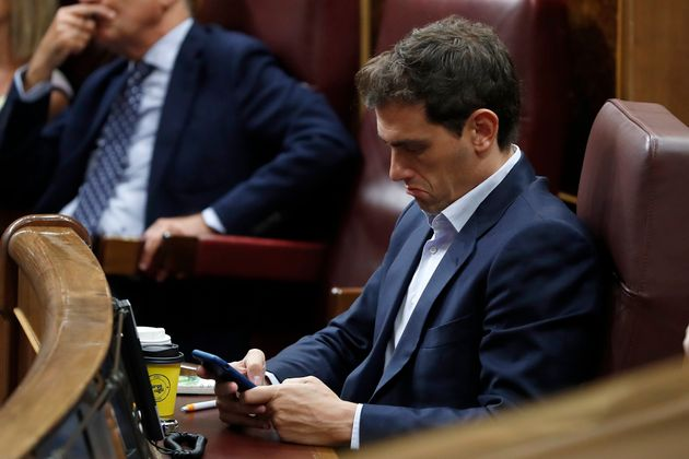 Albert Rivera con su